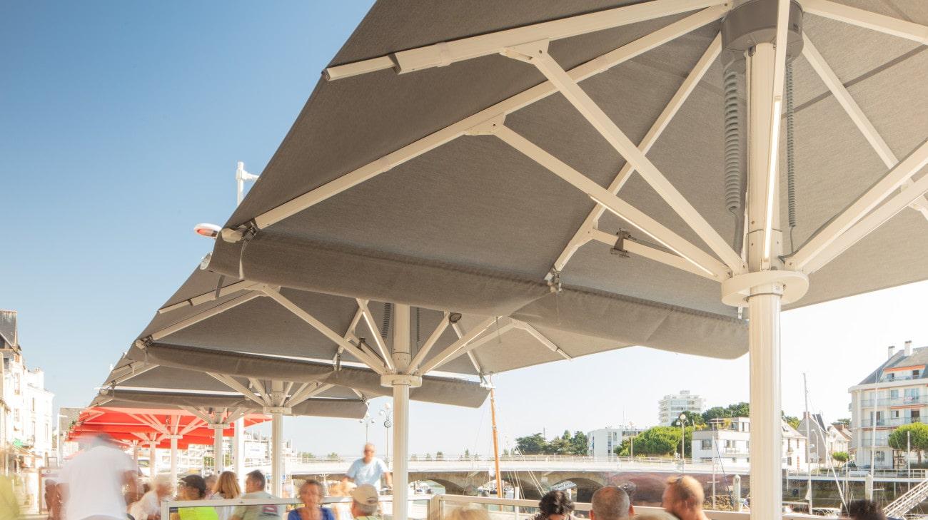 Parasol Professionel - Parasol Géant - Palazzo Style - Bar Les Moussaillons Le Pouliguen - HD 17-min