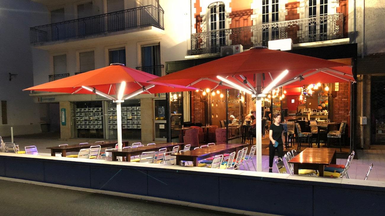 Parasol Style - Café Jules au Pouliguen