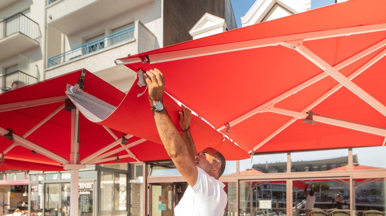 Parasol Professionel - Parasol Géant - Palazzo Style - Le Bateau Ivre - HD 13-min