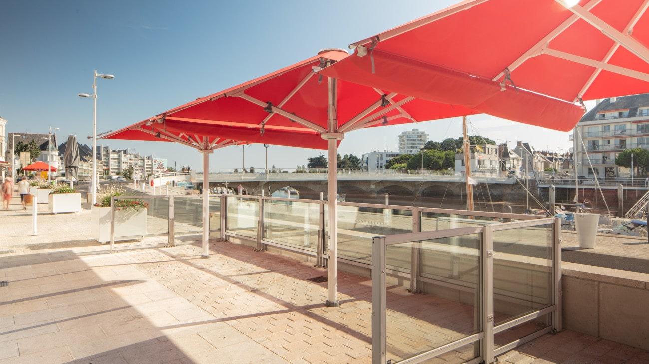 Parasol Professionel - Parasol Géant - Palazzo Style - Le Bateau Ivre - HD 3-min