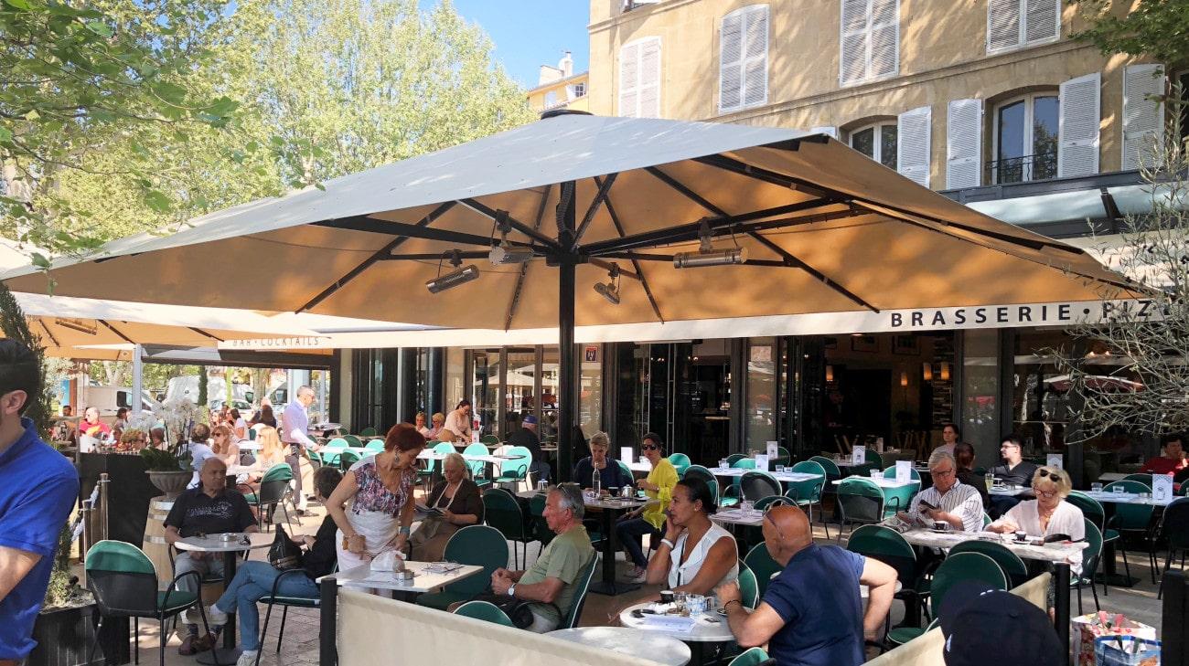 Parasol professionel grande dimension - Palazzo Noblesse 6x6 - IMG_3667-min