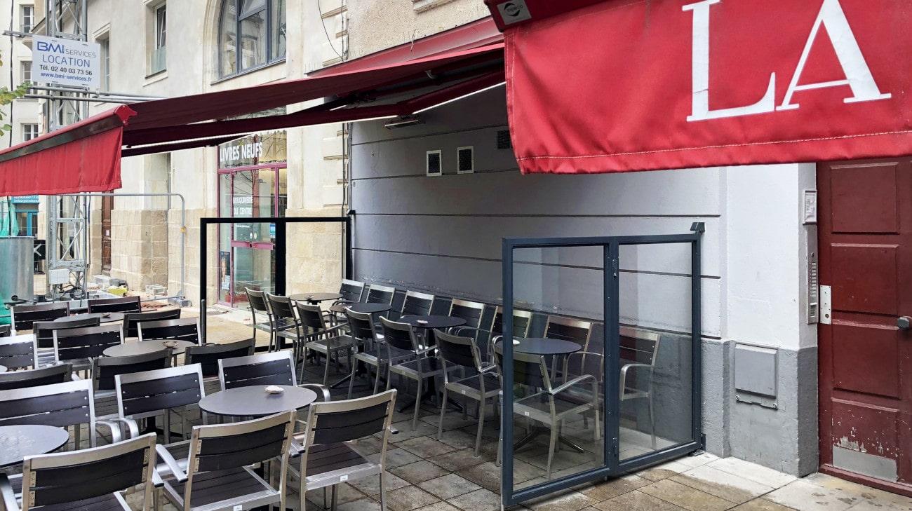 Pare-vent repliable - Casa Nostra à Nantes