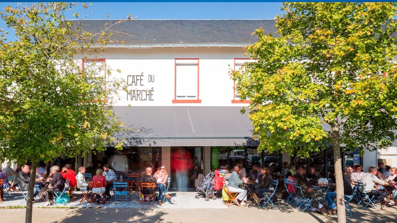 Store Banne Madrid - Café du Marché par Espacio