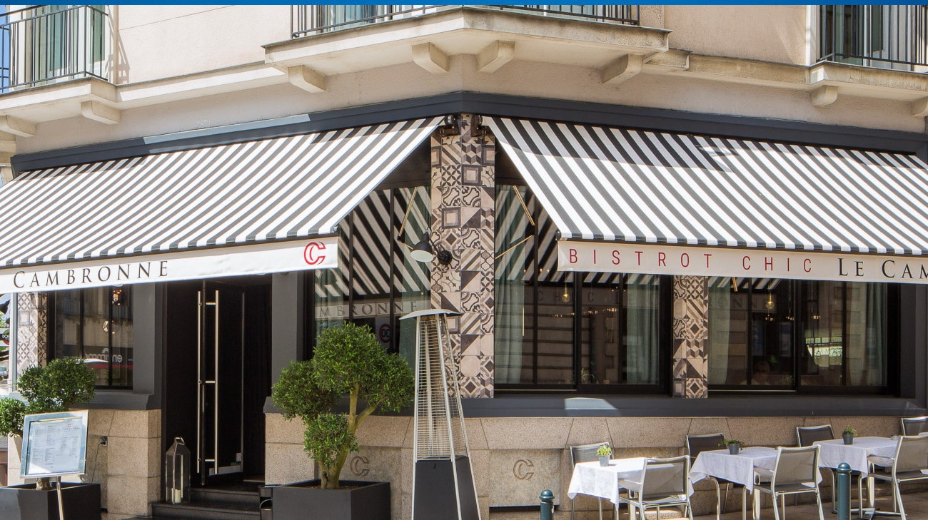 Store Banne Madrid - Le Cambronne à Nantes (44) par Espacio