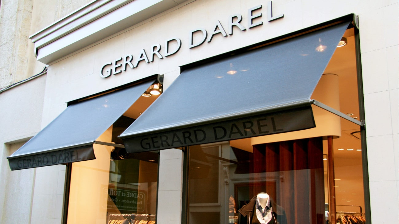 Store Professionnel - Store pour magasin - Store a Projection - Magasin Gerard Darel Le Mans - Store Projection - 0010-min