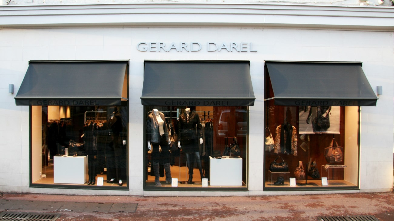 Store Professionnel - Store pour magasin - Store a Projection - Magasin Gerard Darel Le Mans - Store Projection - 0028-min