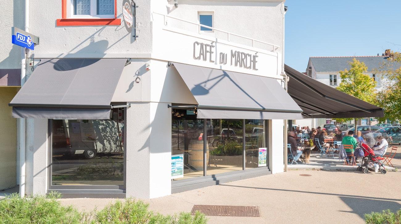 Store Professionnel - Store pour restaurant - Store a Projection - Store Bannette a projection - café du marché Nantes-3-min