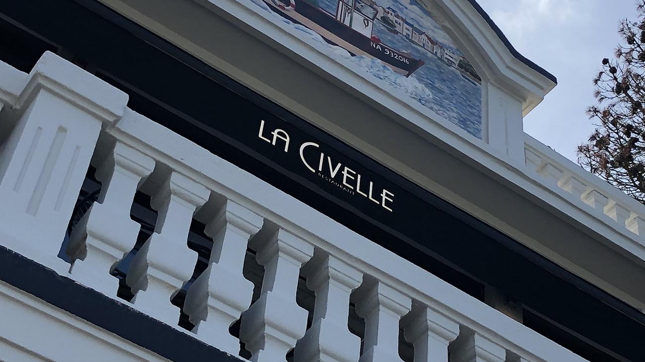 Lambrequin Lumineux au restaurant La Civelle à Nantes (44)