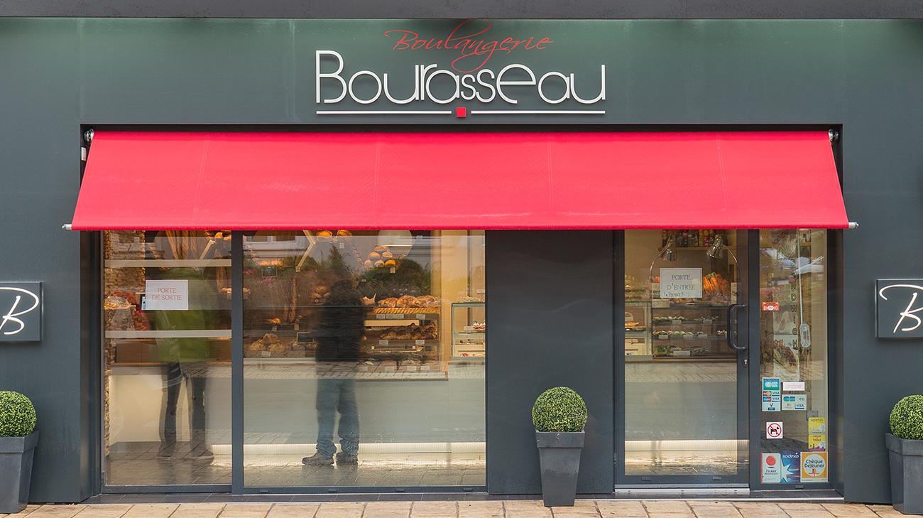 Store Bannette à Projection - Boulangerie Bourasseau - Cantenay Epinard