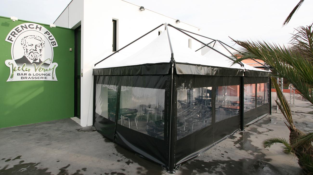 Extancio installé au bar brasserie French Pub à Saint-Sébastien-sur-Loire (44) par Espacio